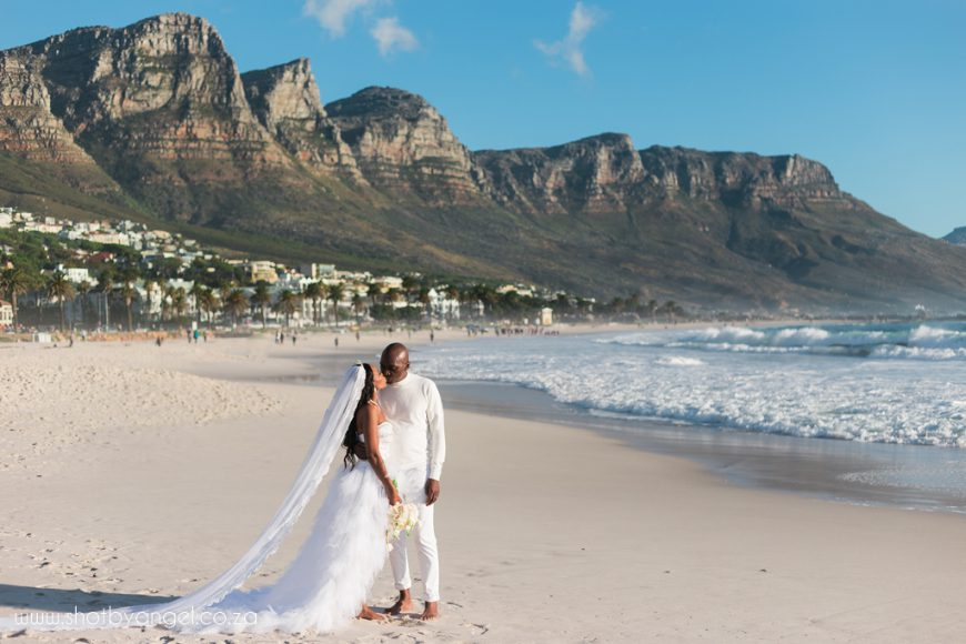 Cape Town Wedding Photographer Beach Wedding Camps Bay Cape Town Shot By Angel Photography